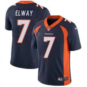 Broncos John Elway Navy Jersey